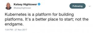 Hightower on Kubernetes