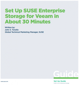 SUSE Enterprise Storage + Veeam